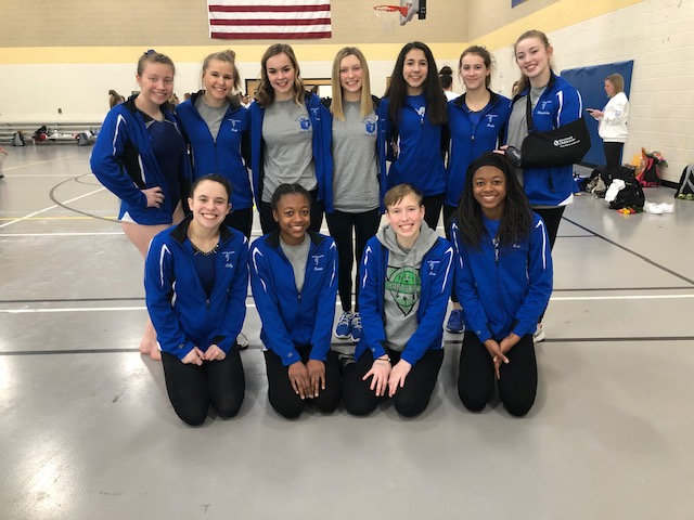 Gymnastics Team Finishes 9th at OHSAA State Championships