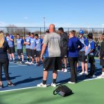 Boys Varsity Tennis powers past Springfield 4-1