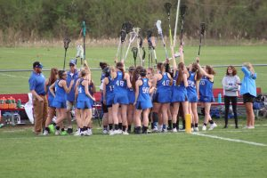 4-11-19 Girls Varsity Lacrosse vs. Bishop Fenwick