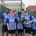 Boys Varsity Tennis finishes 2nd place at CJ Invitational