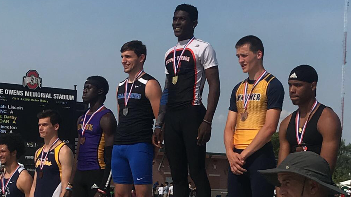 Colin Dillon – State Runner Up in 110m Hurdles