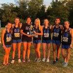 Girls Cross Country kicks off season with a win at the Springboro Invitational