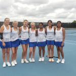 Girls Varsity Tennis finishes 4th place at GWOC Tournament
