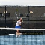 Lady Vikings Tennis rolls to 5-0 Victory on Senior Night