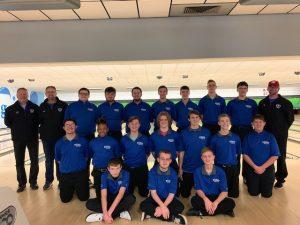 The 2019-2020 Boys Bowling Team