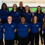 The Miamisburg Girls Bowling Team 2019-2020