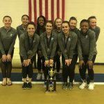 Varsity Gymnastics Team places 1st at Indian Cup