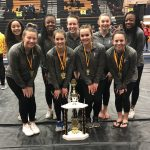 Viking Gymnasts Take 1st at Elk Invitational