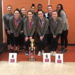 Viking Gymnasts Finish in Top 3 at Anderson's Multi-District Invitational