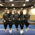 Viking Gymnasts Host Miamisburg B Meet