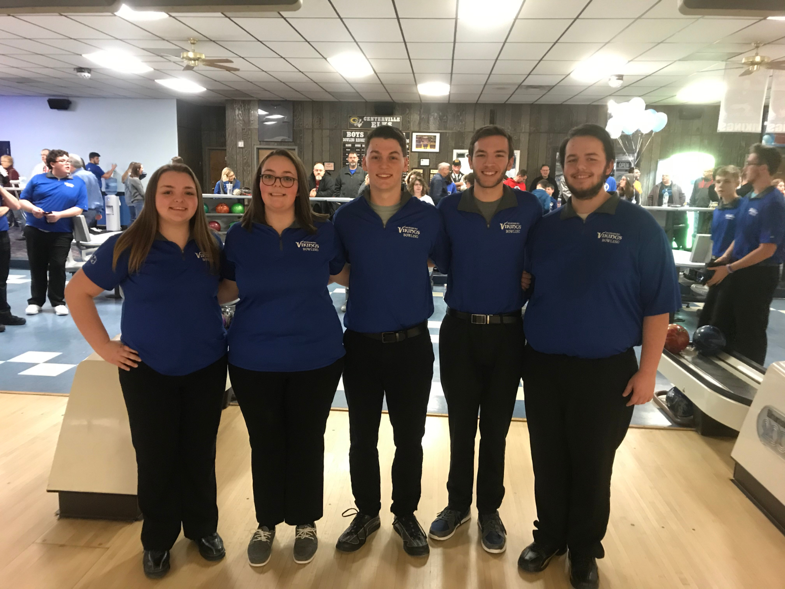 Bowling's Senior Night honor there Seniors