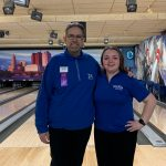 Girl Bowler Maddie Ginn competed at State Tournament