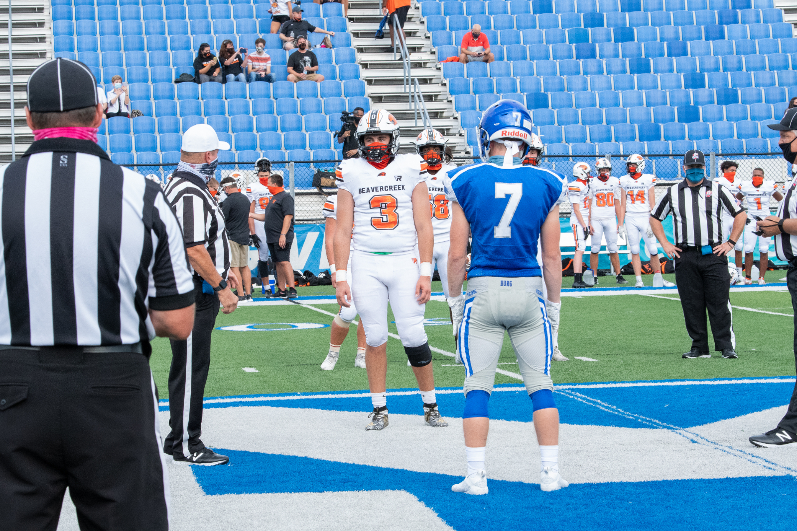 Varsity Football vs Beavercreek 8/28/2020