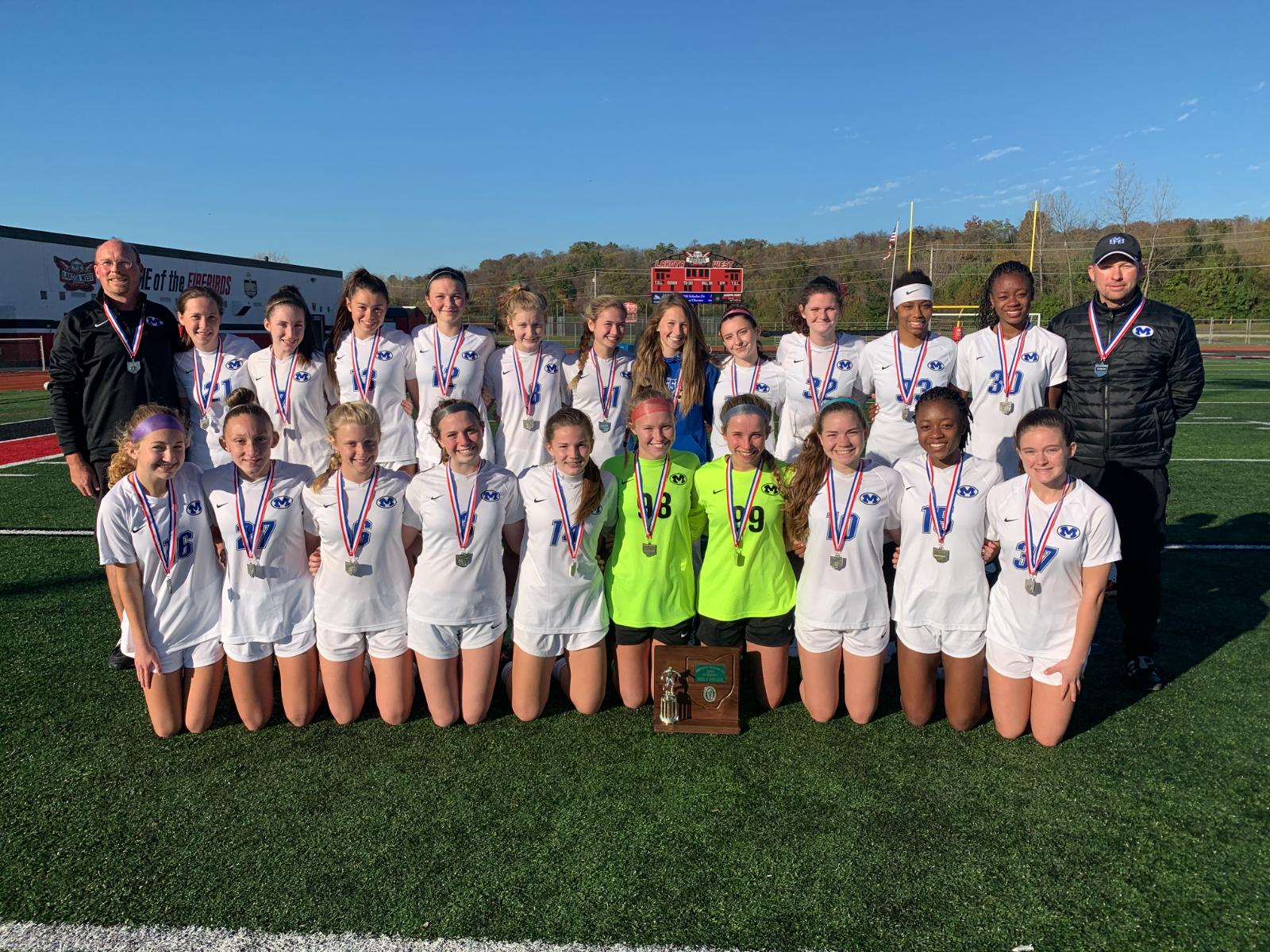 Girls Soccer Team – District Runner Ups