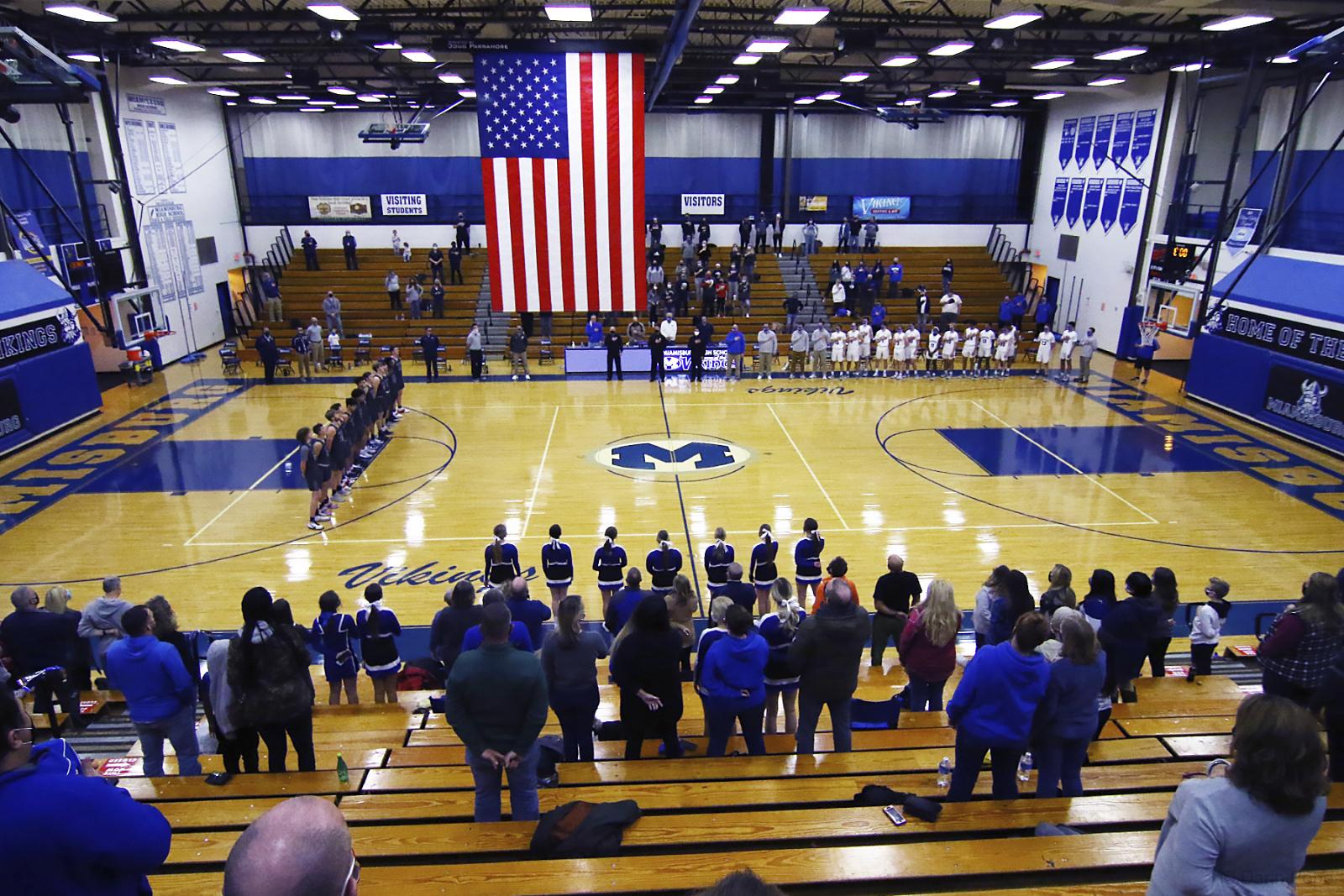 Miamisburg Varsity Basketball v Fairmont