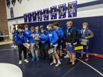 Varsity Wrestling finishes 3rd place at Valley View Invite