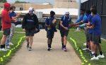 Boys Varsity Tennis falls to Centerville 4 – 1 on Senior Night