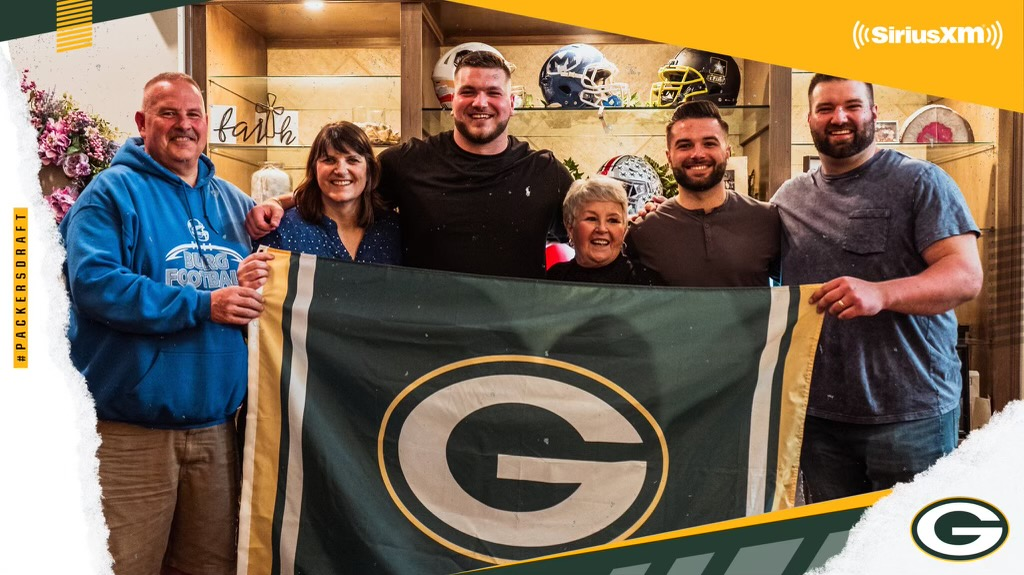 Miamisburg's own Josh Myers Selected by the Green Bay Packers in this year's 2nd round of the NFL Draft