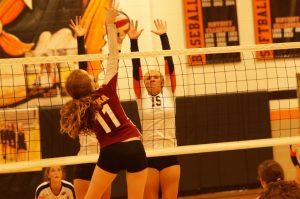 Varsity Volleyball vs Winnetonka '15
