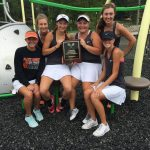 Lady Pirate Tennis Wins Cameron Tournament