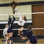 Saint Thomas Aquinas High School Girls Varsity Volleyball beat John F Kennedy HS 3-0