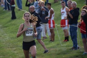ATHENA WELSH, FIRST PLACE DIV 1 RACE AT MALONE INVITATIONAL