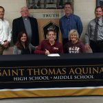 Jake Caniford Signs w/ Walsh