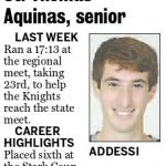 Andrew Addessi – Rep Runner of the Week 11-7-15