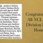 Congratulations STA Football All-NCL League Honors!