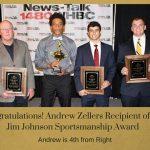 Congratulations Andrew Zellers!