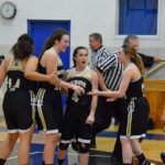 Saint Thomas Aquinas High School Girls Varsity Basketball beat Kidron Central Christian 61-44