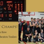 STA Upsets Unbeaten Tuslaw for District Championship!