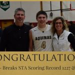 Jacob Paul Breaks STA Scoring  Record!