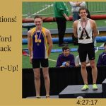 Jake Caniford Boys Indoor Track 1600m State Runner-Up!