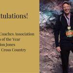 Eldon Jones Girls XC Coach of the Year!