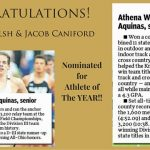 Welsh & Caniford Nominated for Athlete of the Year!
