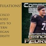 Francisco Pedrozo Announces Commitment to Eastern Michigan U