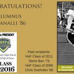 Mike Ranalli '86 Selected to HS Football HOF