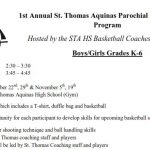 STA Fall Basketball Youth Camp
