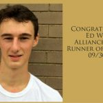 Ed Walsh Review XC Runner of the Week 9/30/16