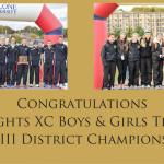 Boys & Girls XC – District Champions!