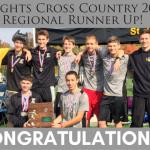 Boys XC Regional Champions!