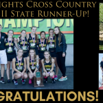 Girls XC – State Runner-Up!