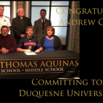 George Signs With Duquesne!