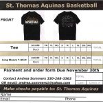 Boys Basketball Official T-Shirt