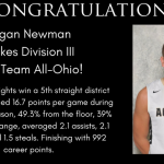 Logan Newman Earned 1st Team D3 All-Ohio