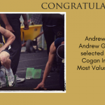 Andrew George Most Valuable Runner