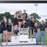 Lady Knights Track Regional Runner-Up!