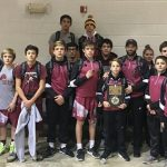 Blanchard Junior High Wrestling finishes 3rd place