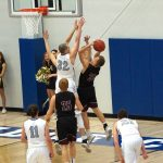 Blanchard High School Boys Junior Varsity Basketball beat Bridge Creek High School 46-28